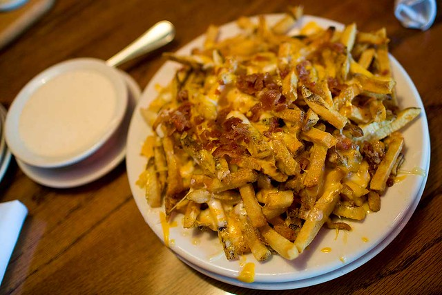 Aussie Cheese Fries with Ranch Dressing | This is labeled as… | Flickr