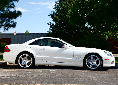 2009 mercedes benz sl550 was a gorgeous car in person for Mercedes benz sl550 for sale