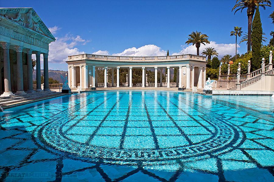 Swimming Pool Neptune Pool Hearst San Simeon State Histor Flickr