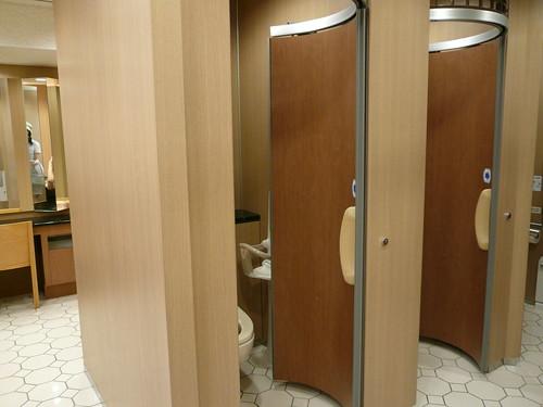 Well designed toilet