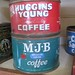 Coffee Vintage Cans - Huggins Young & M.J.B