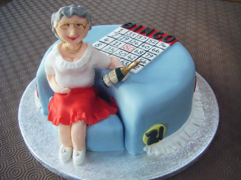 Bingo Themed Birthday Cakes