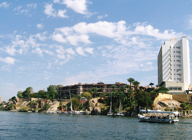 Aswan Nile Old And New Cataract Hotel View Of The Old An Flickr