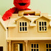 Day 225 - Giant Elmo VS Suburbia