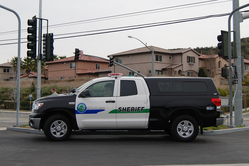 Los Angeles County Sheriff Department Lasd Toyota Tund