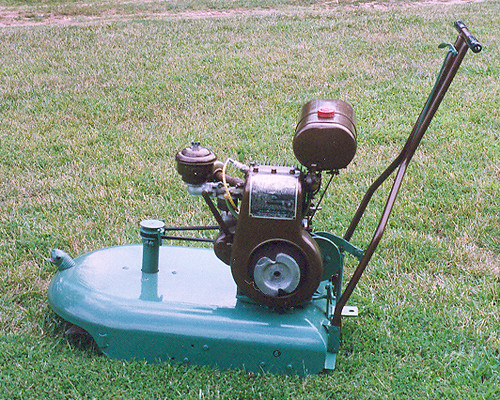 Snappin Turtle Snapper Mower Restored Side It Has No
