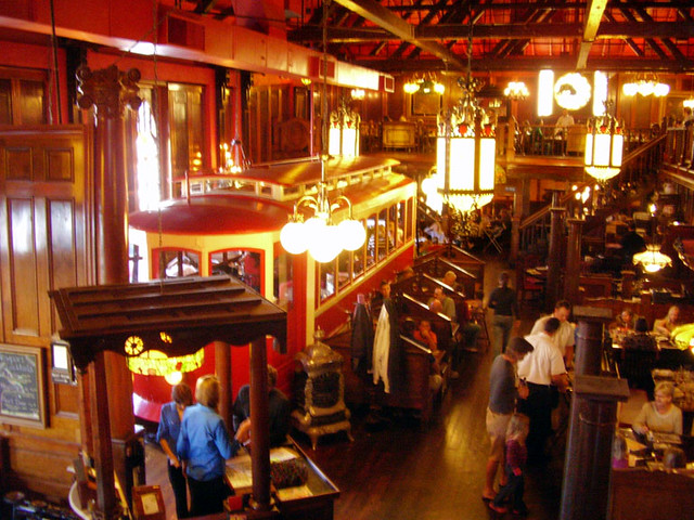 Old Spaghetti Factory Interior Newport Beach The Old
