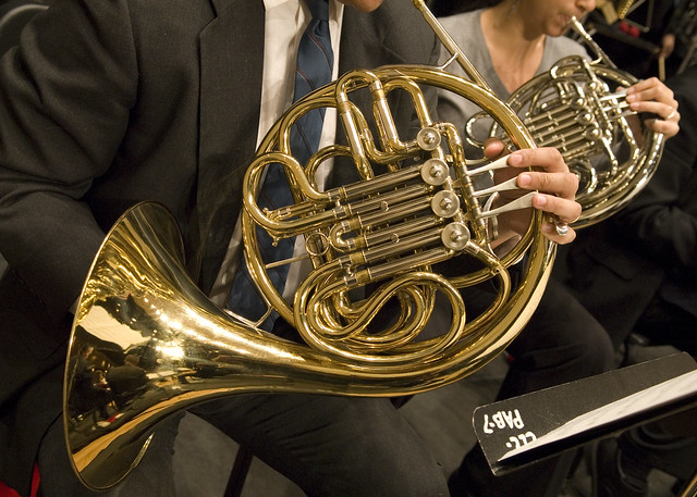 French horn players | Flickr - Photo Sharing!