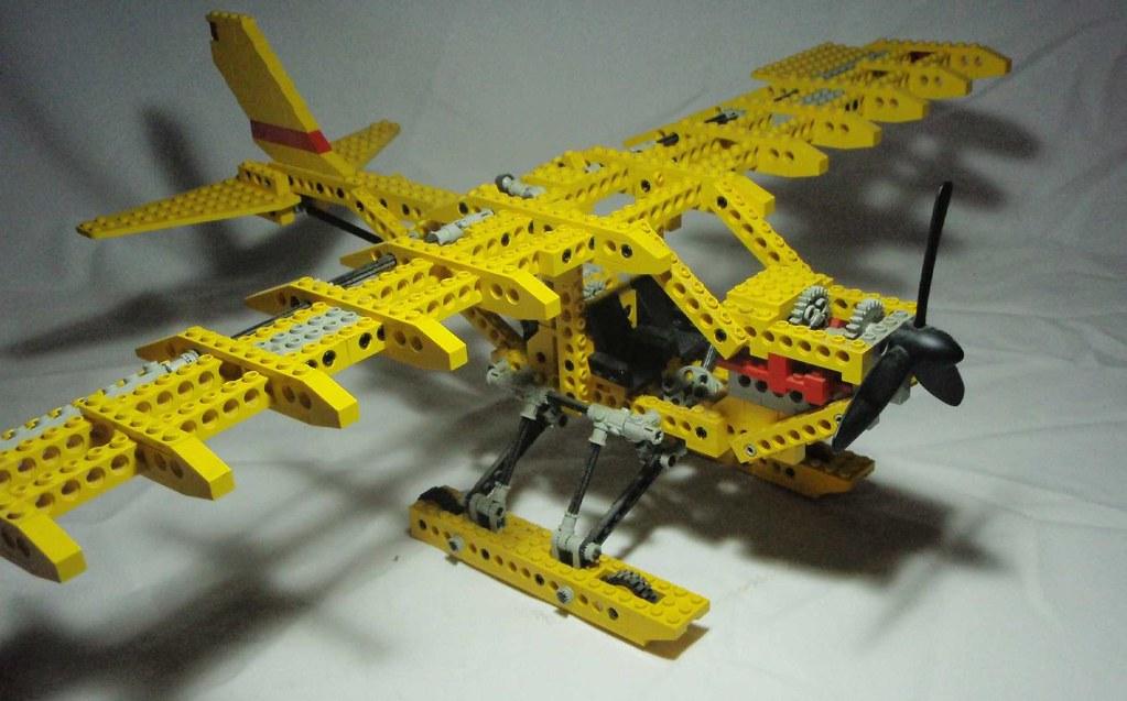 lego technic 8855 lego technic model 8855   seaplane