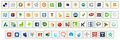 50 Social Media Icons | by IvanWalsh.com