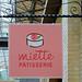Miette Pâtisserie Sign