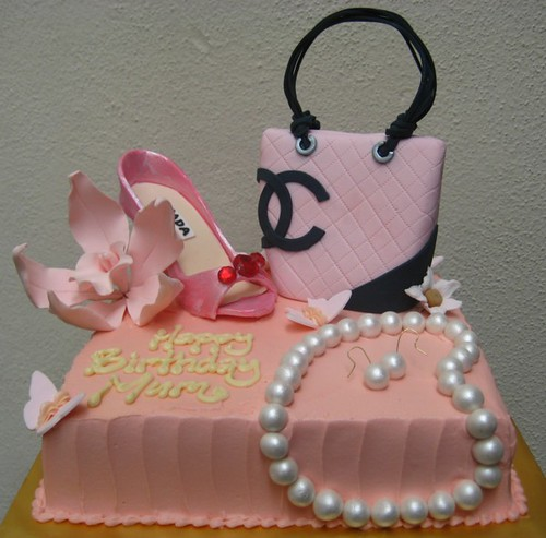 Fashionista Cake A Birthday Cake For A Fashionable Mum
