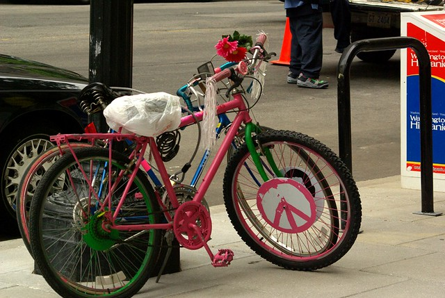 About >> hippie bike | Methinks the owner has been to one too many ...