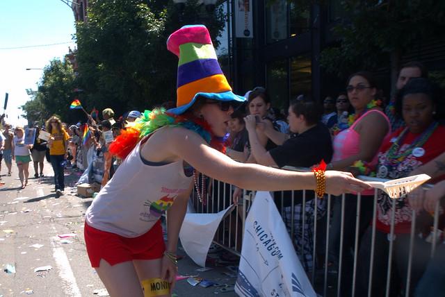 2009 Seattle Gay Pride Parade End -