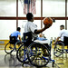 Wounded warriors practice for Warrior Games