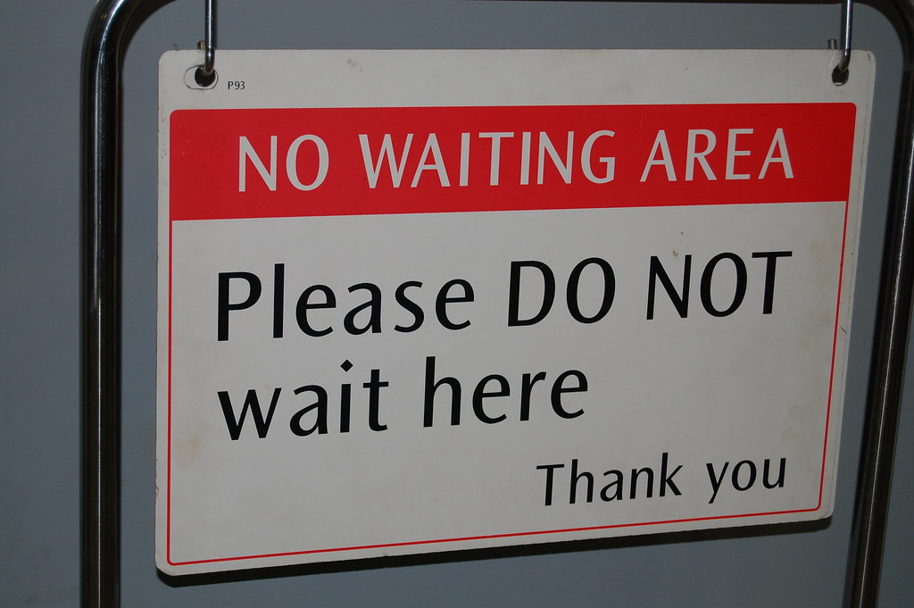 No waiting area   B10m   Flickr
