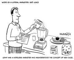 Woes of a Literal Marketer: SEO Juice | by HubSpot