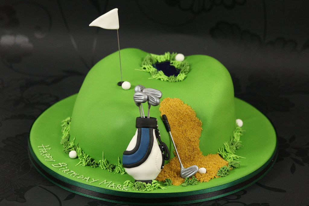Golf Wedding Cake