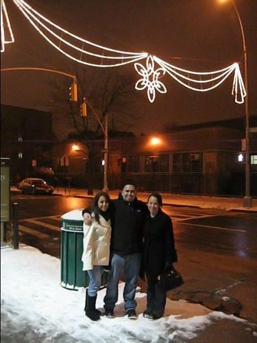 David and Melanie Visit 2009