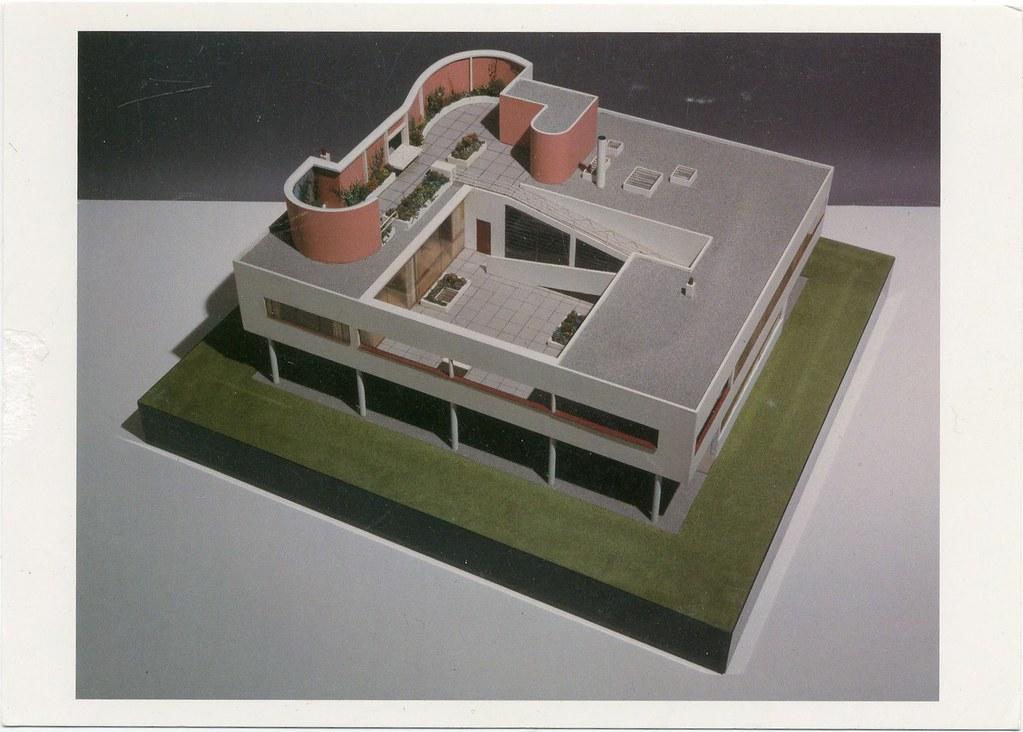 Le Corbusier. Villa Savoye Poissy-sur-Siene, France | Flickr