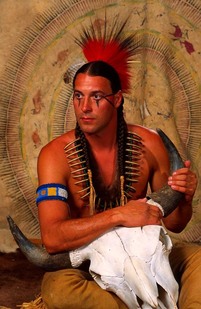 American Indian Profile  Firenrain  Flickr-5563