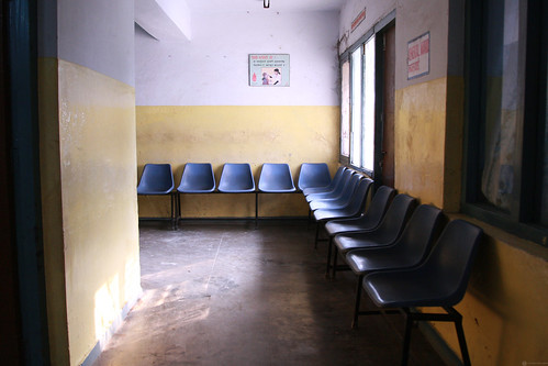 Waiting area at Pokhara Regional Hospital | by World Bank Photo Collection