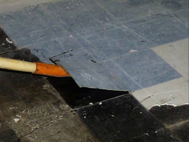 ... Asbestos Floor Tile Removal   Via High Heat | By Asbestorama