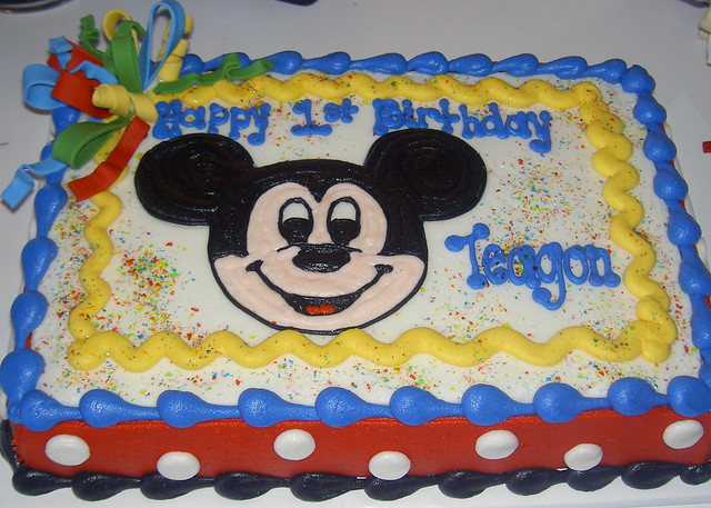 Mickey Mouse 14 Sheet Cake cake mickey mouse shee...