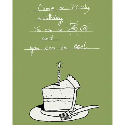 birthday cake illustration   happy birthday card design
