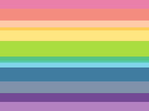 Rainbow stripes background | by annnie