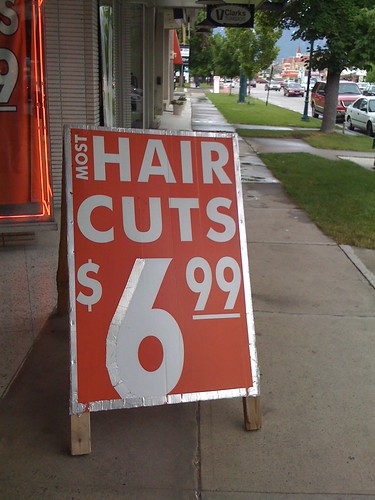 Most Hair Cuts $6.99 | by a4gpa