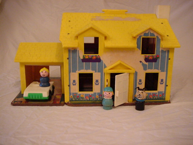 Fisher price little people yellow house my fisher price for Price my house free online
