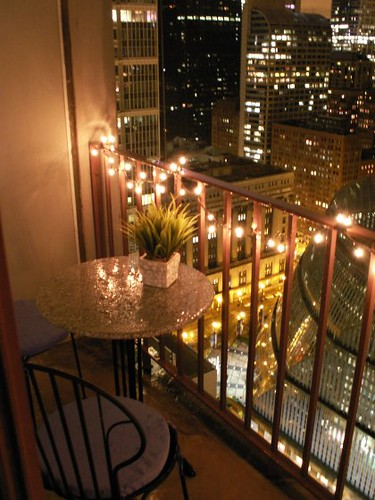 Cute Apartment Balcony: Chicago High-rise Studio Apartment - Balcony