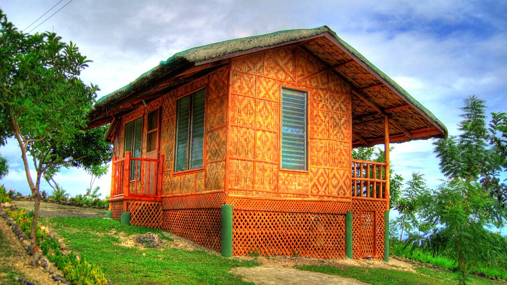 Qpark native house compostela cebu alex senagan flickr for House design for small houses philippines