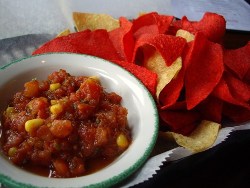 Chips and Salsa from Banana Bean Cafe (Columbus, OH) | by swampkitty