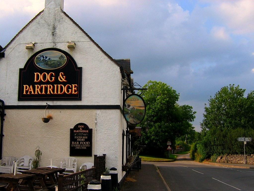 The Dog And Partridge Pub Near Thorpe On The Tissington Tr