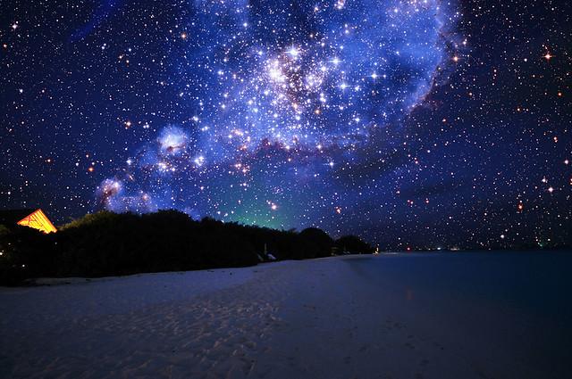 Maldevian Starry Sky | The night sky seems totally ...