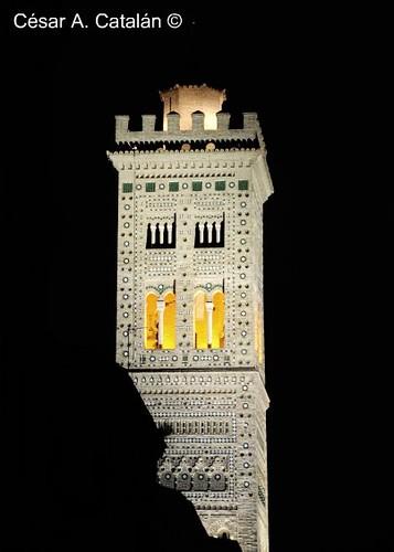 zaragoza  torre de la iglesia de la magdalena