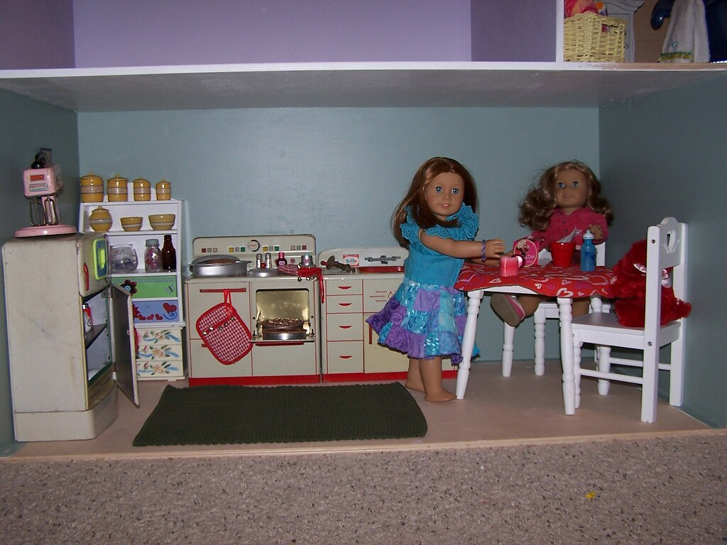 american doll house kitchen it u0027s not finished but we u2026 flickr