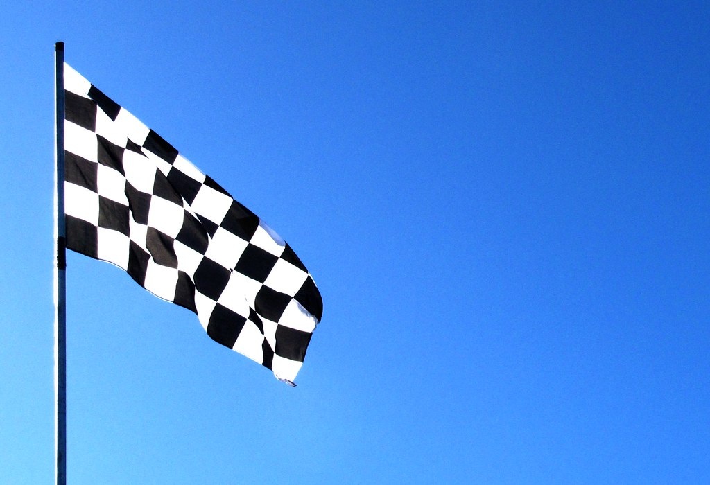 chequered flag | yip, it's a chequered flag (or checkered ...