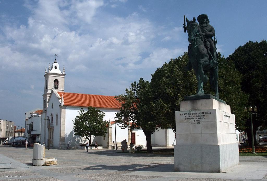 Statue équestre du comte de Cantanhede