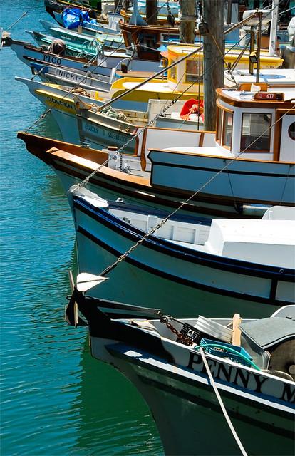 San francisco harbor fishing boats snarkphoto flickr for San francisco fishing
