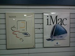 Picasso and iMac poster