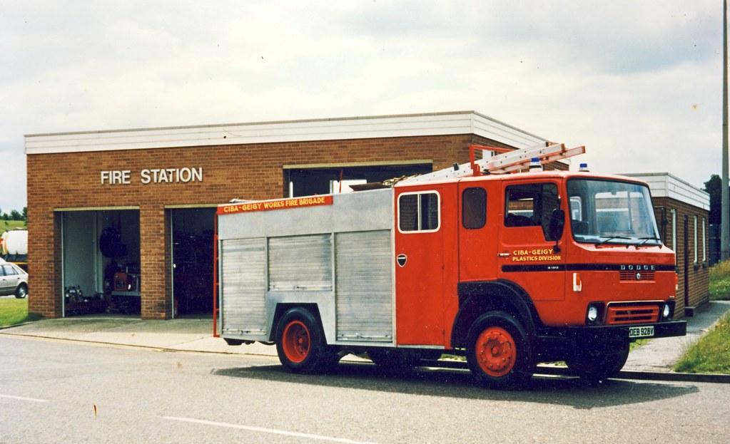 CIBA-GEIGY Works Fire Brigade, Duxford, Cambridgeshire ...