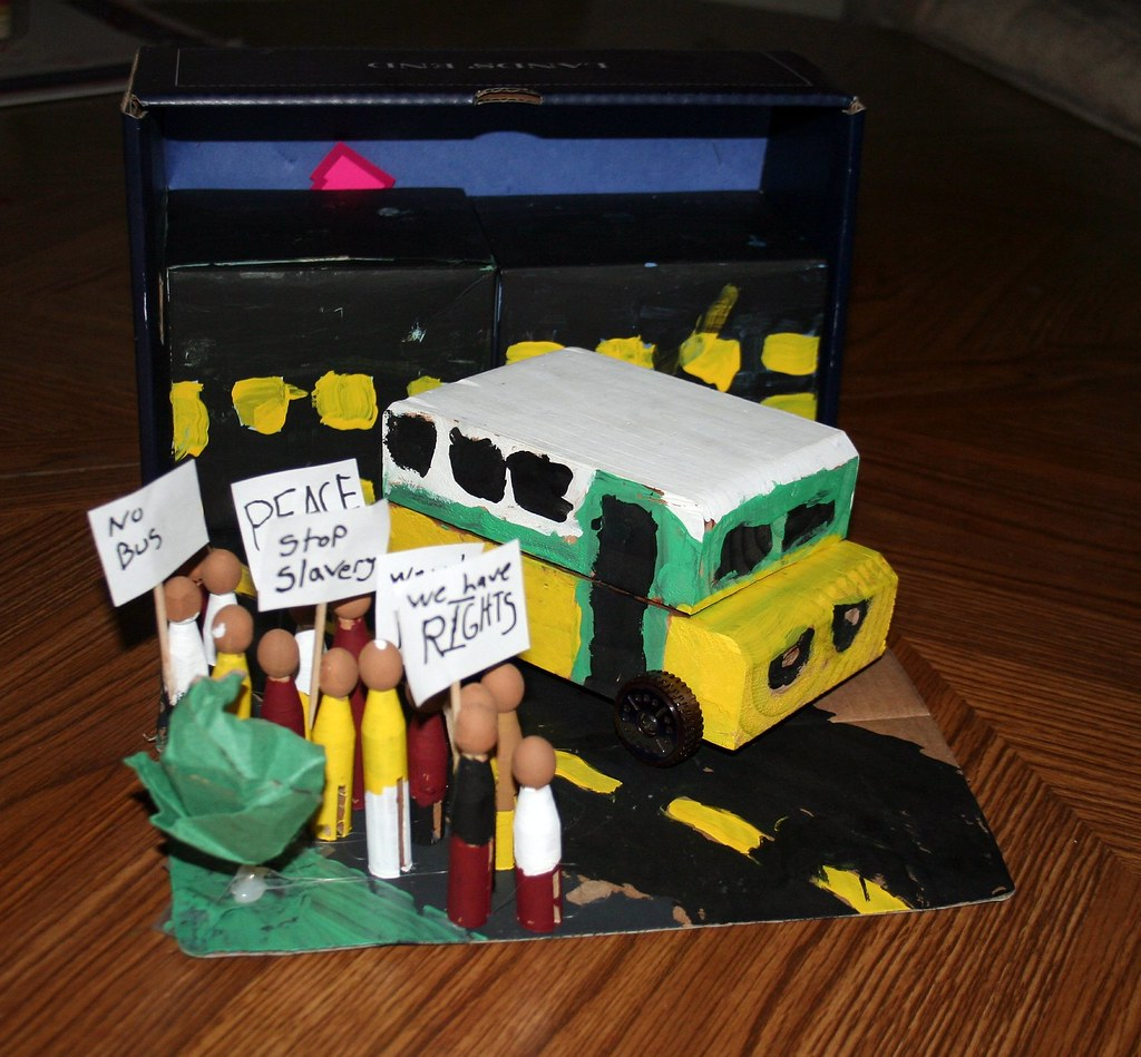 Civil Rights Movement Rosa Parks, Leaders in Civil Rights Pictures of the bus rosa parks rode