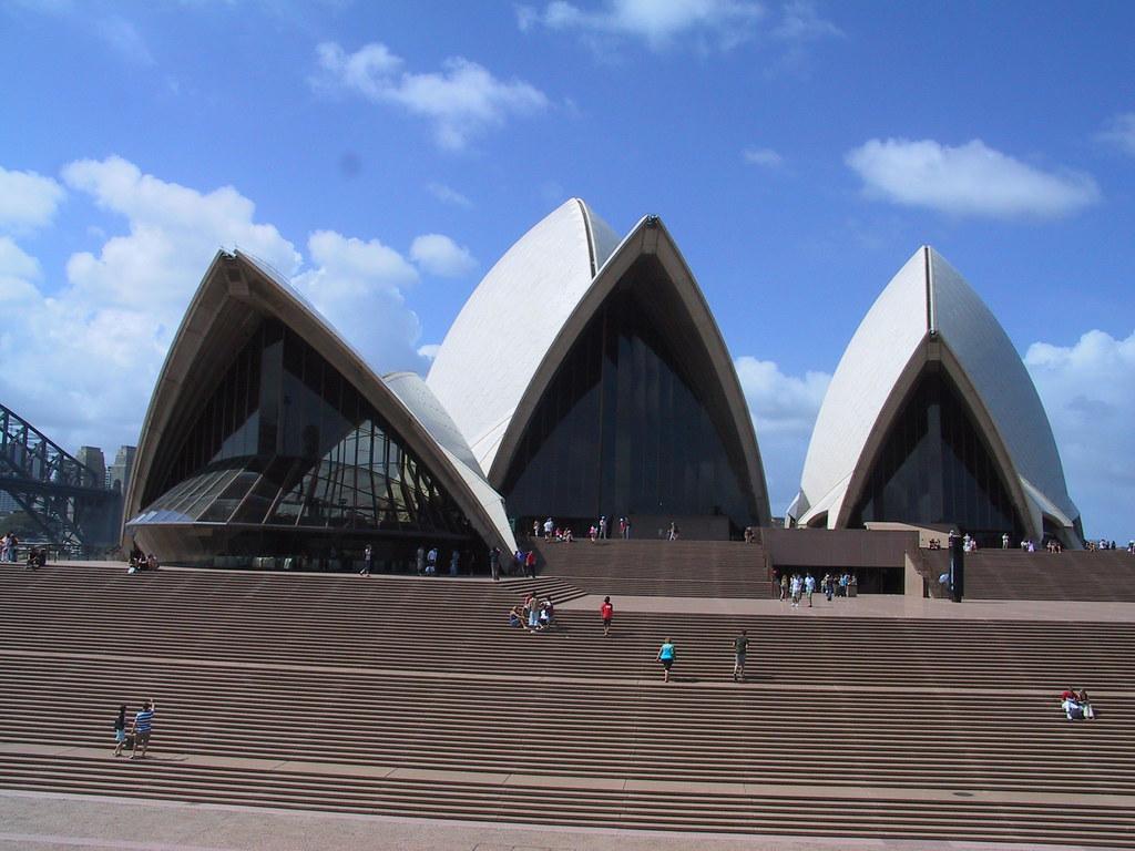 Sydney Opera House, entrance stairs   Mark of Oz   Flickr