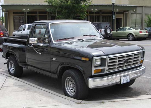 Ford F 100 Flareside A Nice Example Of An Early 80 S
