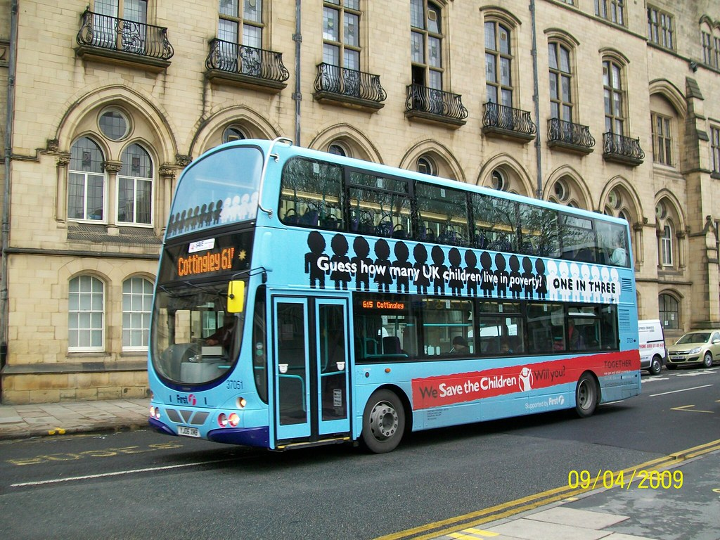 Yj06xmb First Bradford Volvo B7tl 37051 Wearing It S All
