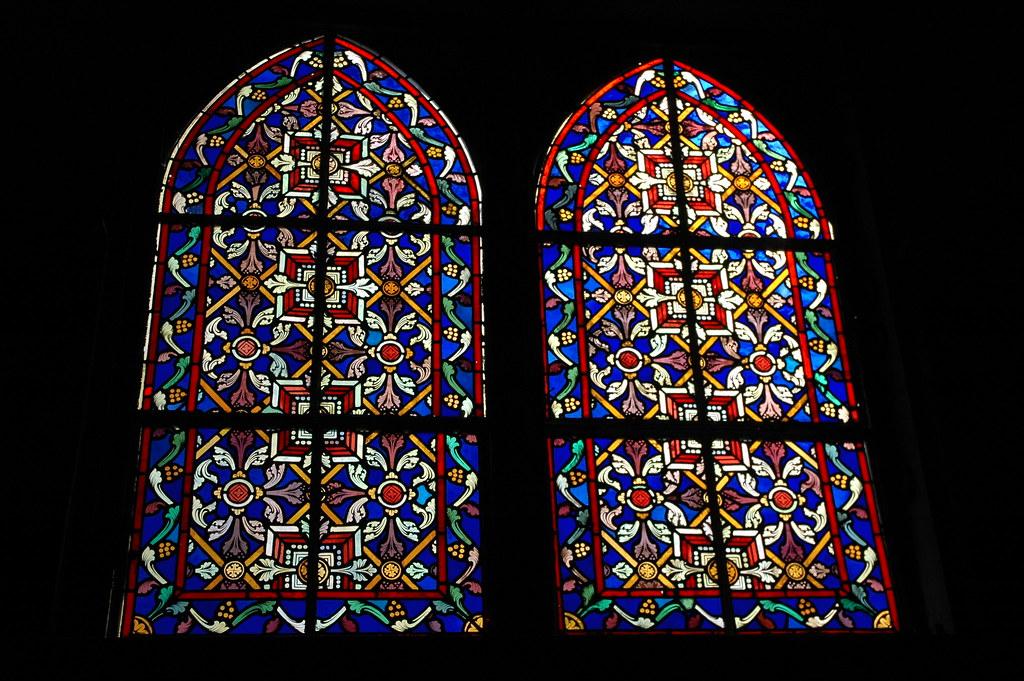 Stained Glass Windows Inglesia Santa Barbara De Santa Ros