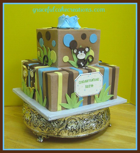 Cake Baby Shower Safari : Safari Baby Shower Cake Flickr - Photo Sharing!